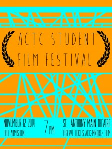 Poster design by Ben Long, University of St. Thomas student