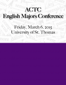 ACTC English Majors Conference_Page_1